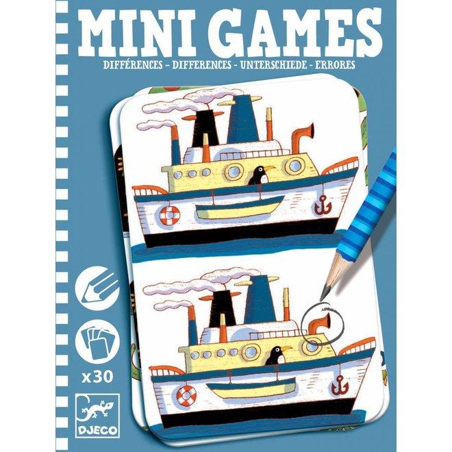 Djeco | Mini Games Verschillen Zoeken Boys