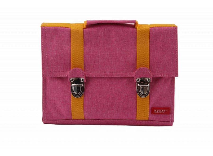 Kleuterboekentas / Schooltasje MB Cordura Happy Pink   Bakker made with love