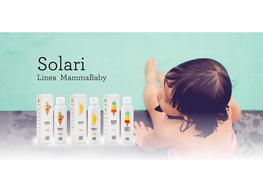 Baby Zonnecrème SPF 30 | Linea Mamma