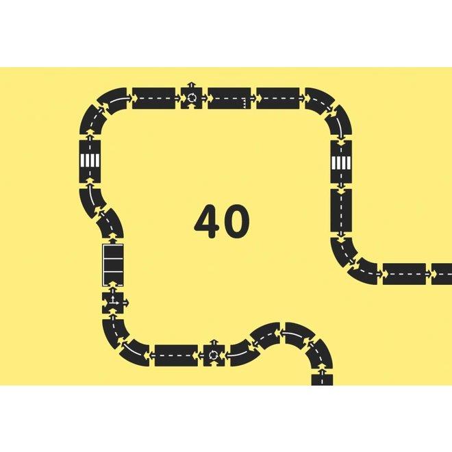 Autobaan Snelweg (40-delige set) | WaytoPlay Autobaan King of the Road (44-delige set) | WaytoPlay