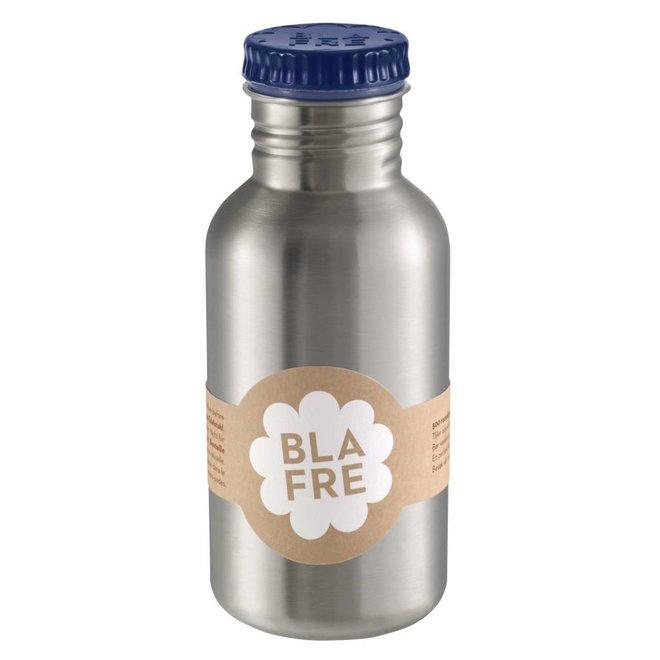 Stalen Drinkfles 500ml Donkerblauw | Blafre