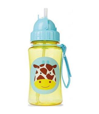 Skip Hop Drinkfles met Rietje Giraf | Skip Hop