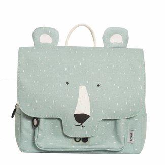 Trixie Baby Kleuterboekentasje / Schooltasje Mr. Polar Bear | Trixie Baby