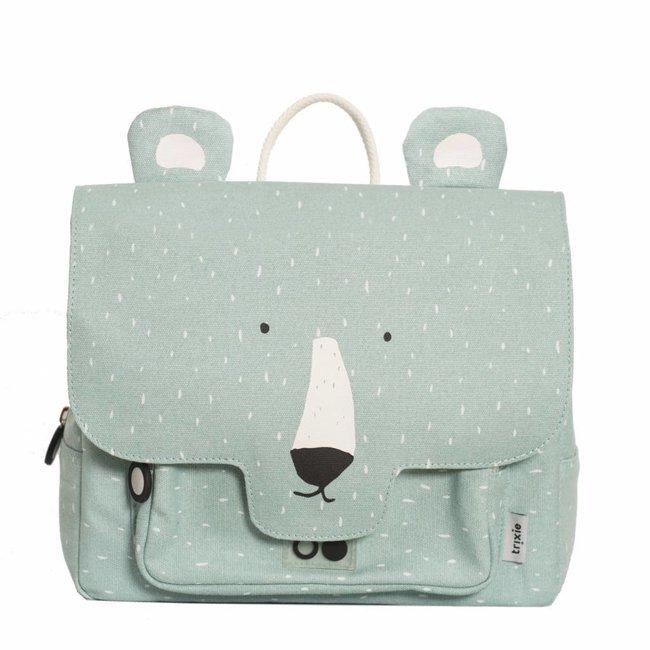 Kleuterboekentasje / Schooltasje Mr. Polar Bear | Trixie Baby