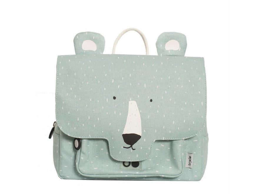 Kleuterboekentasje / Schooltasje Mr. Polar Bear   Trixie Baby