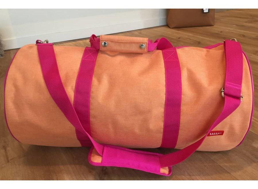 Tennisbag Groot Cordura Happy Orange | Bakker made with love