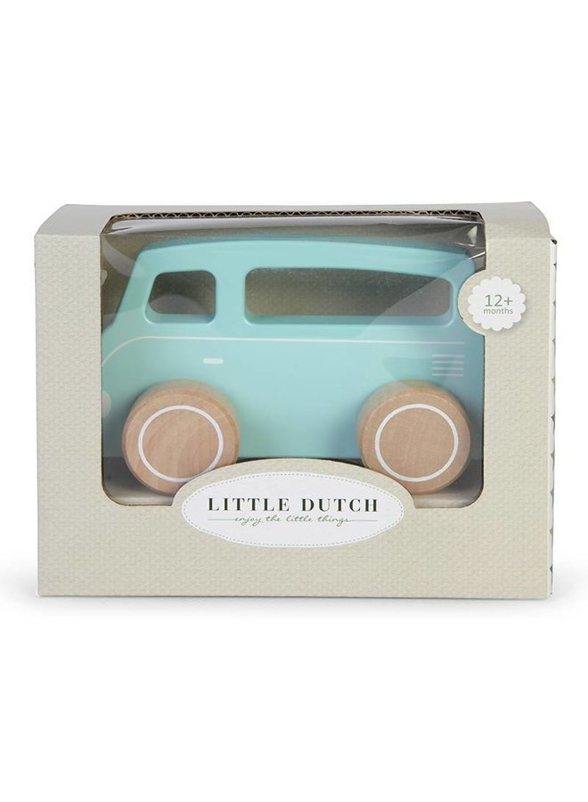 Houten Busje Mixed Stars Mint | Little Dutch