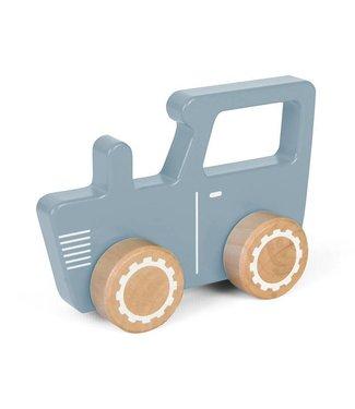 Little Dutch Houten Tractor Adventure Blauw | Little Dutch