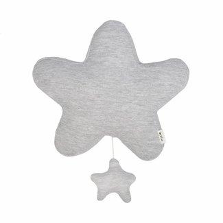 Trixie Baby Muziekmobiel Ster - Granit Grey | Trixie Baby