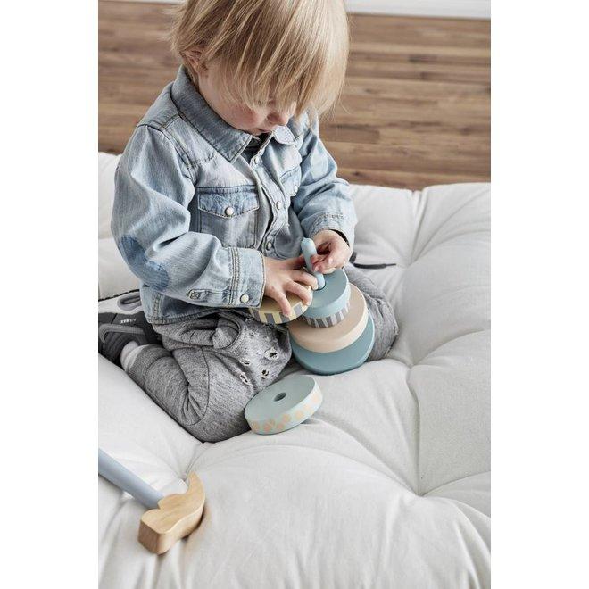 Stapelbare Ringen Edvin - Groen | Kid's Concept