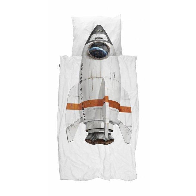 Eenpersoons Dekbedovertrek Rocket | Snurk