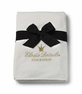 Elodie Dekentje Pearl Velvet Vanilla White   Elodie Details