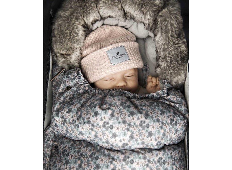 Wollen Wintermuts Powder Pink 24-36 maanden | Elodie Details