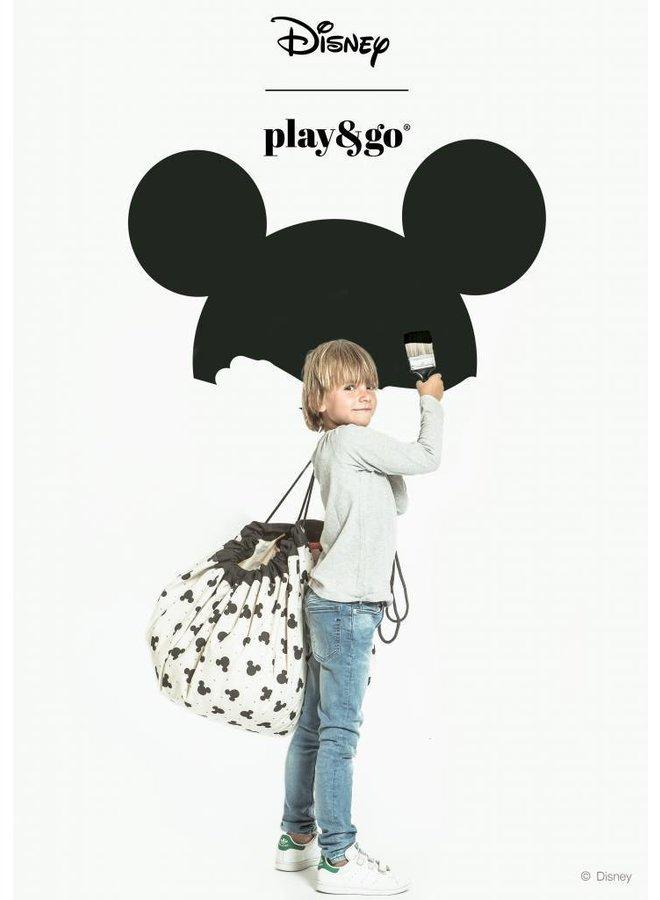 Play and Go Opbergzak en speelmat - Mickey Black