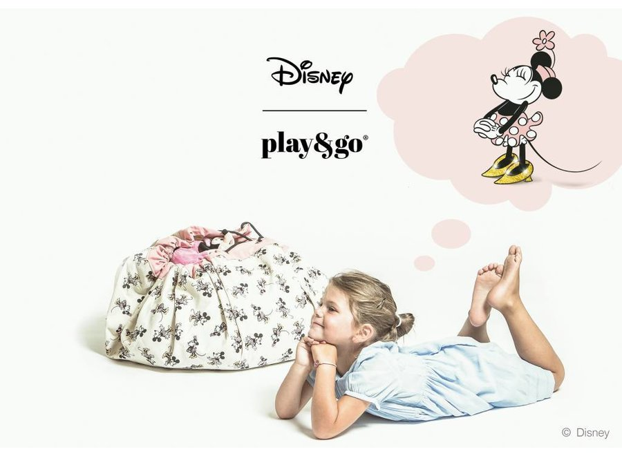Play and Go Opbergzak en speelmat - Minnie gold Shoes