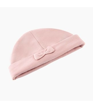 House of Jamie Babymutsje met Strikje - Powder Pink | House of Jamie