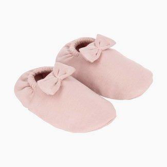 House of Jamie Babyschoentjes met Strikje - Powder Pink | House of Jamie