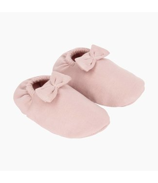 House of Jamie Babyschoentjes met Strikje - Powder Pink | House of Jamie