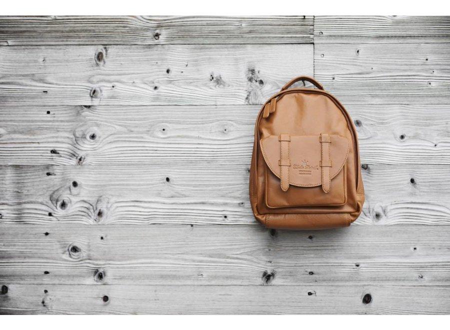 Kleuterrugzak Chestnut Leather | Elodie Details