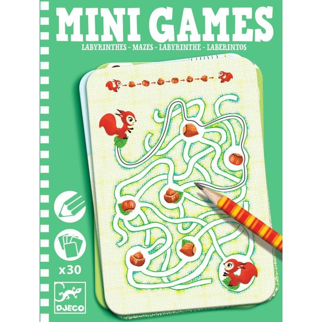 Djeco | Mini Games Labyrint - Doolhof