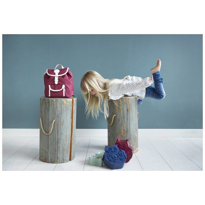 Brooddoos / Lunchbox  Uil Donkerblauw | Blafre