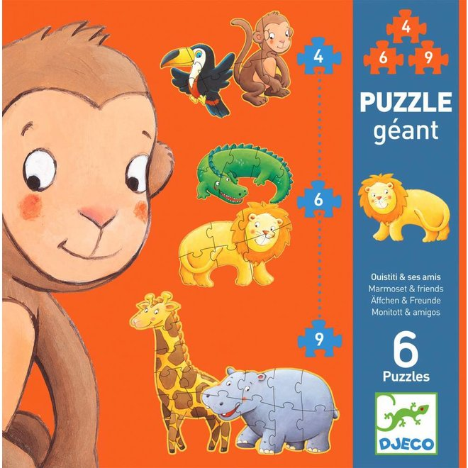 Puzzel XL Jungle | Djeco