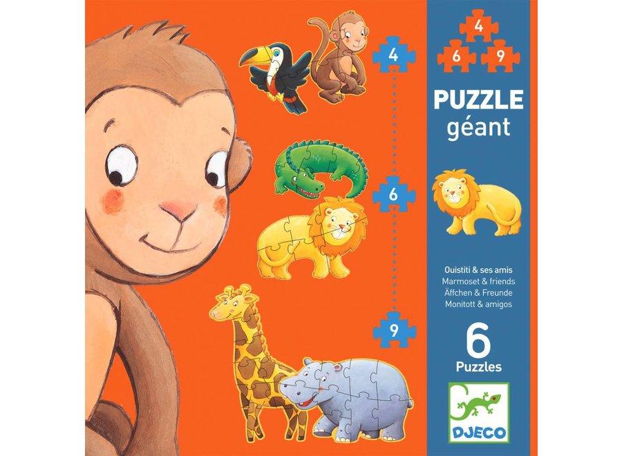 Puzzel XL Jungle | Djeco