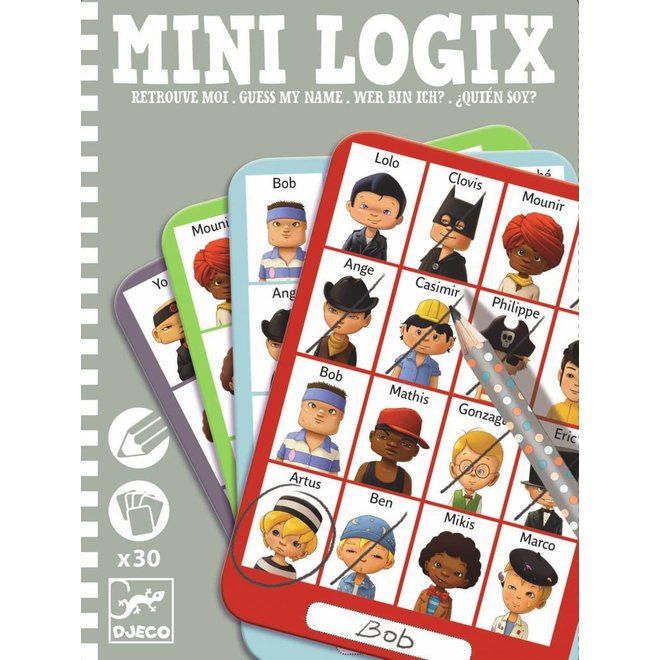 Mini Logix 'wie is het?' boys | Djeco