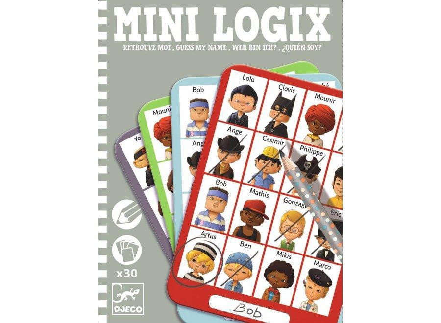 Mini Logix 'wie is het?' boys | Djeco