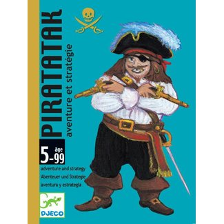 Djeco Djeco   Kaartspel Piratatak  - Strategiespel