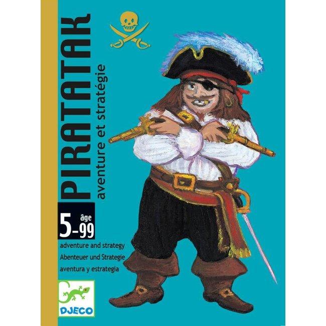 Djeco   Kaartspel Piratatak  - Strategiespel