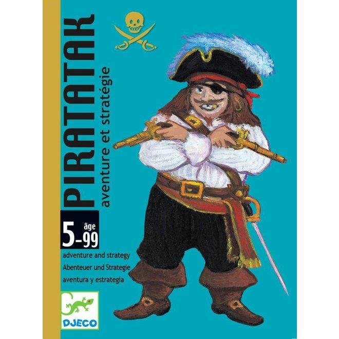 Djeco | Kaartspel Piratatak  - Strategiespel
