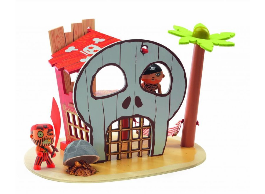 Djeco | Arty Toys PIRAAT - Pirateneiland Ze Pirat Island