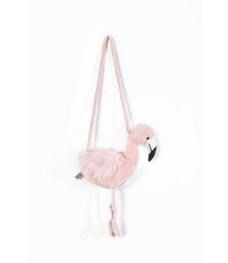 Wild & Soft Handtasje Roze Flamingo | Wild & Soft