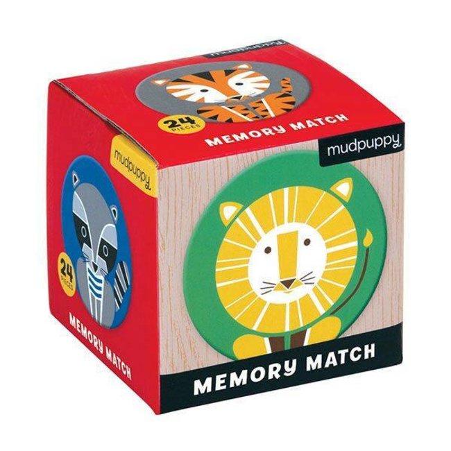 Mudpuppy Mudpuppy |  Mini Memory Spel  -  Geometric Animals