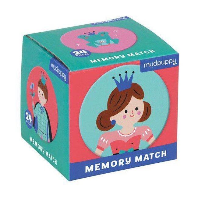 Mudpuppy | Mini  Memory Spel  - Enchanted Princess