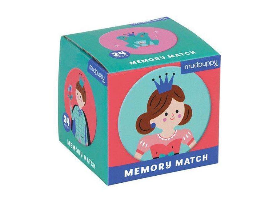 Mudpuppy    Mini Memory Spel  - Enchanted Princess