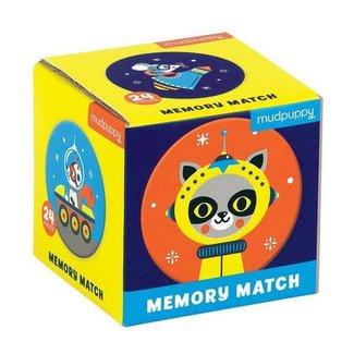 Mudpuppy Mudpuppy    Mini Memory Spel  - Outer Space