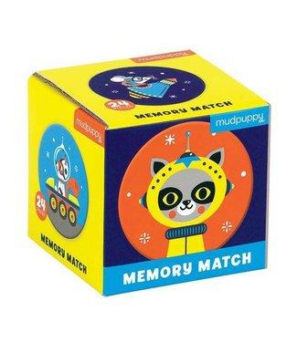 Mudpuppy Mudpuppy |  Mini Memory Spel  - Outer Space