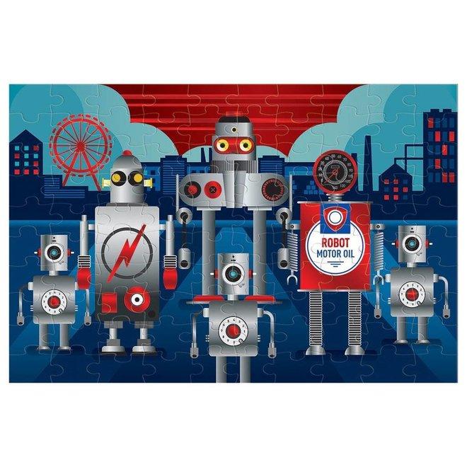 Mudpuppy |  Robot Puzzel Metallic