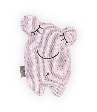 Jollein Knuffel Confetti Monster - Vintage Pink | Jollein
