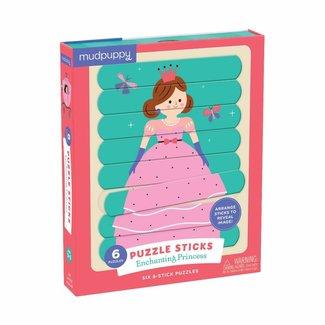 Mudpuppy Mudpuppy   Puzzel Sticks  - Enchanting Princess