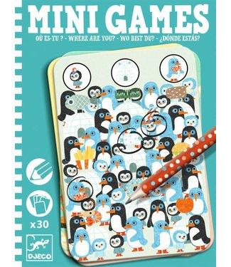Djeco Djeco | Mini Games - Waar ben je?