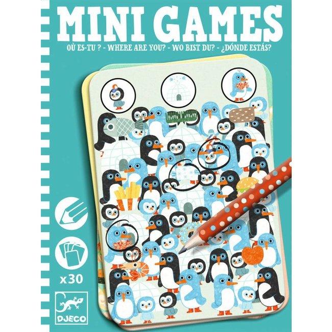 Djeco | Mini Games - Waar ben je?