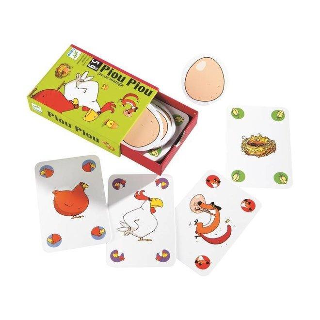 Djeco | Kaartspel Piou Piou - Strategisch Spel