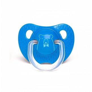 Anatomische Fopspeen Meaningfull in Silicone (6-18m) - Dark Blue Bear | Suavinex