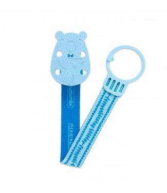 Fopspeenketting Meaningfull - Bear Blue | Suavinex