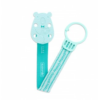 Fopspeenketting Meaningfull - Bear Green | Suavinex