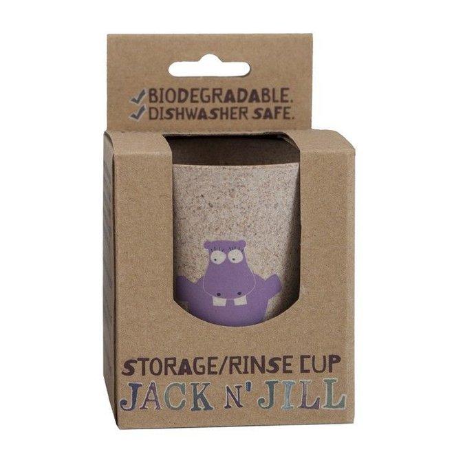 Tandenborstelbeker Hippo | Jack N' Jill