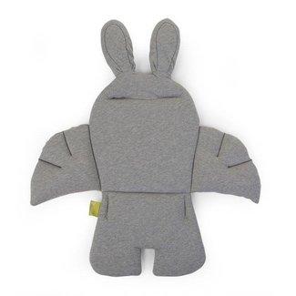 Childhome Rabbit Stoelkussen - Jersey Grey | Childhome